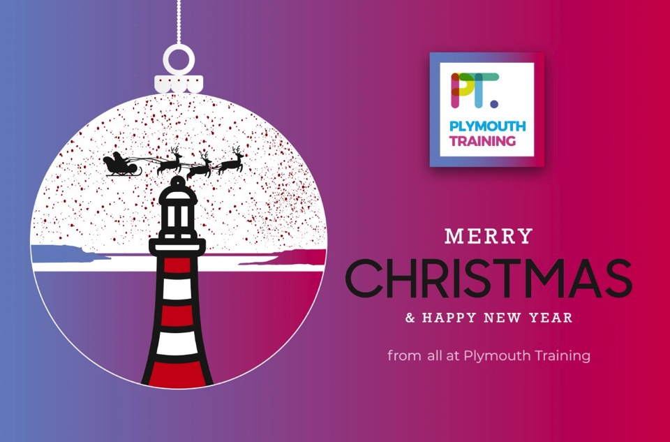 Happy Christmas from all at Plymouth Training!